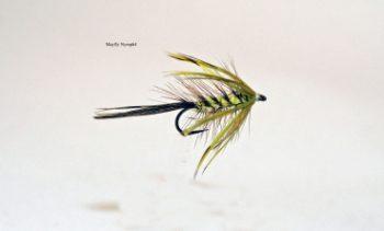 Maifliegen-Nassfliegen (5 Stück)