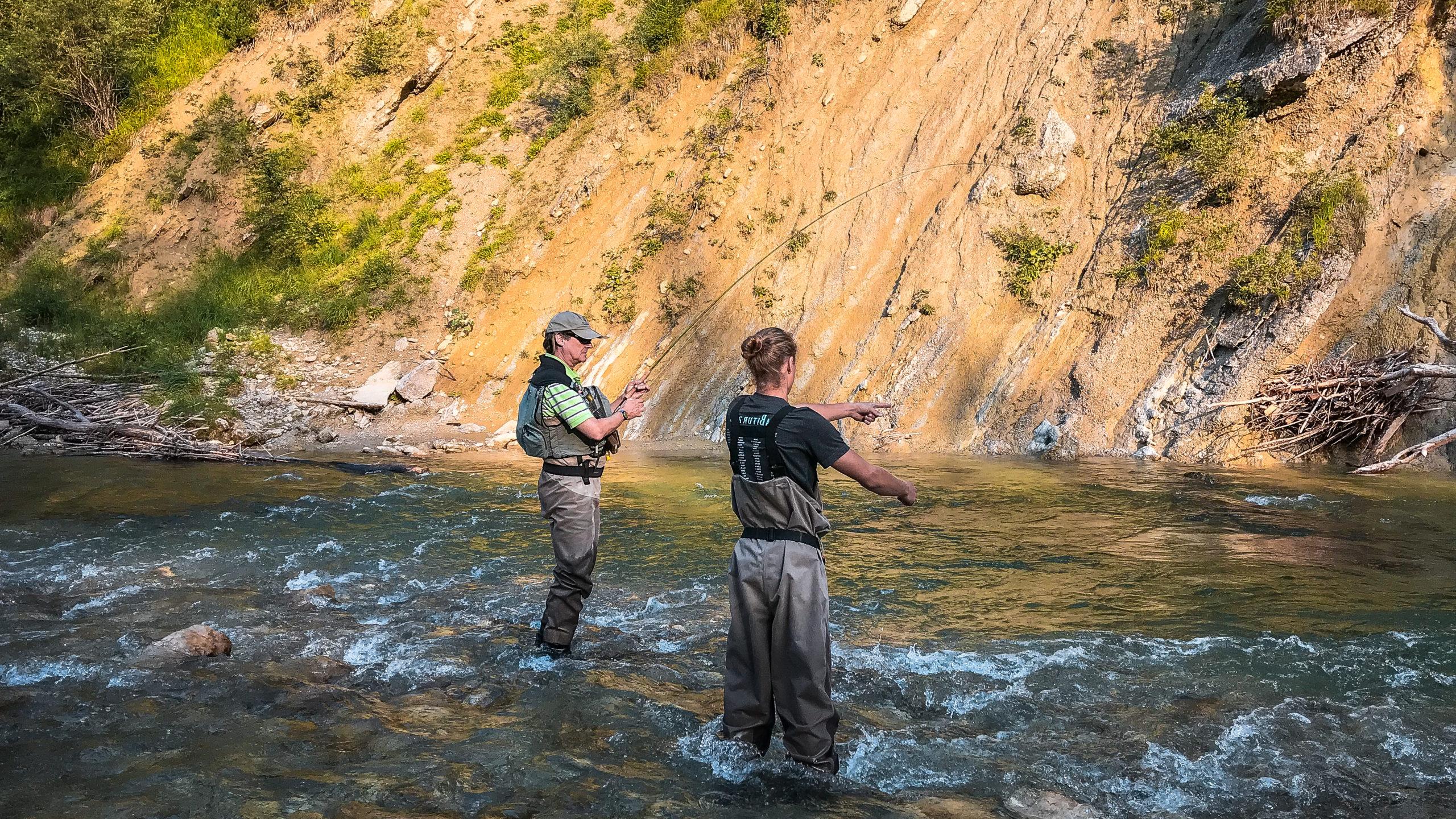Guiding für Fliegenfischer